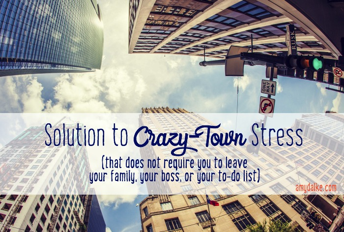 Solution to Crazy-Town Stress
