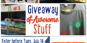 {GIVEAWAY}: Of Awesome Stuff