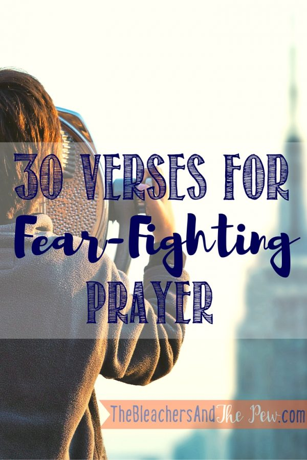 Don't let fear steal anything else from you. Join me for 30 Days of Fear Fighting Prayer_VERSES
