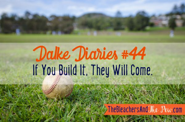 The time my kid went all Field of Dreams, and we were worried Dead People would start showing up.