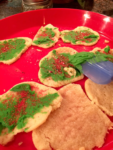 Christmas Trees with Icing