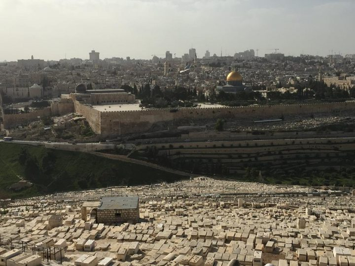 View of Old City from Mount of Olives_Israel 2016
