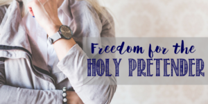 Freedom for the Holy Pretender…