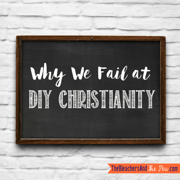 If you tend to rate your Christianity on some kind of scoreboard system, you've probably discovered the failure rate is pretty high. Here's the one reason we continually fail at DIY Christianity...and the solution.
